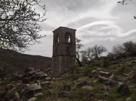 Камбанарията в село Баница